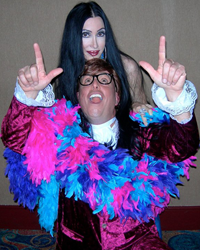 Austin Powers and Cher