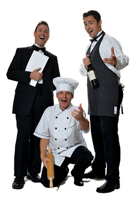 Singing Waiters