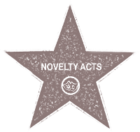 Novelty Acts Fame Star